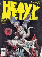 Heavy Metal Vol. II No. 8 Magazine