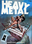 Heavy Metal Vol. IX No. XIII Magazine