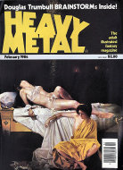 Heavy Metal Vol. VII No. 11 Magazine