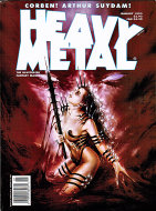 Heavy Metal Vol. XVIII No. 6 Magazine
