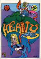 Heavy Tragi-Comics Comic Book
