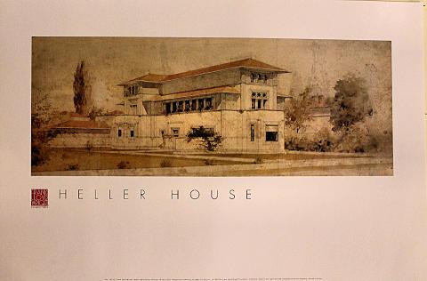 Heller House Poster