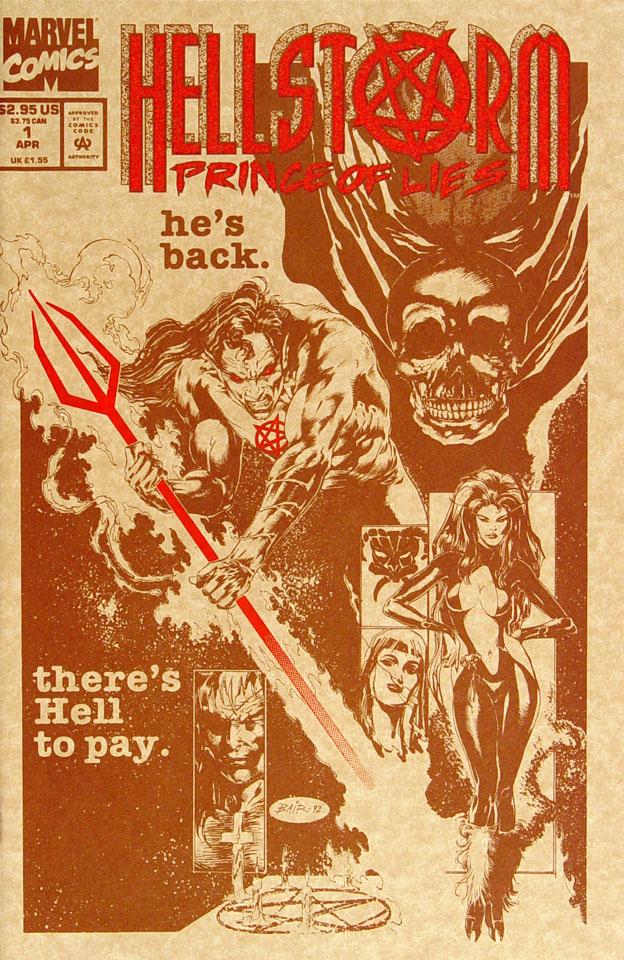 Hellstorm: Prince Of Lies Comic Book