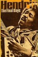 Hendrix The Final Days Book