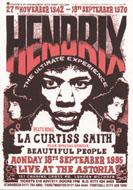 Hendrix: The Ultimate Experience Handbill