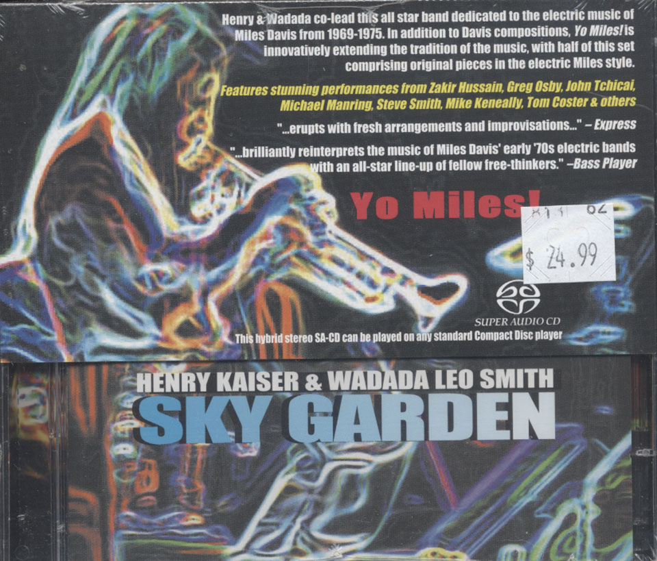 Henry Kaiser & Wadada Leo Smith CD