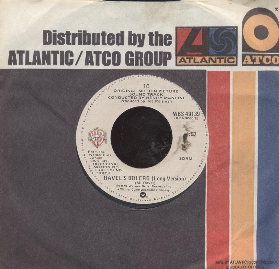 """Henry Mancini / Julie Andrews / Dudley Moore Vinyl 7"""" (Used)"""