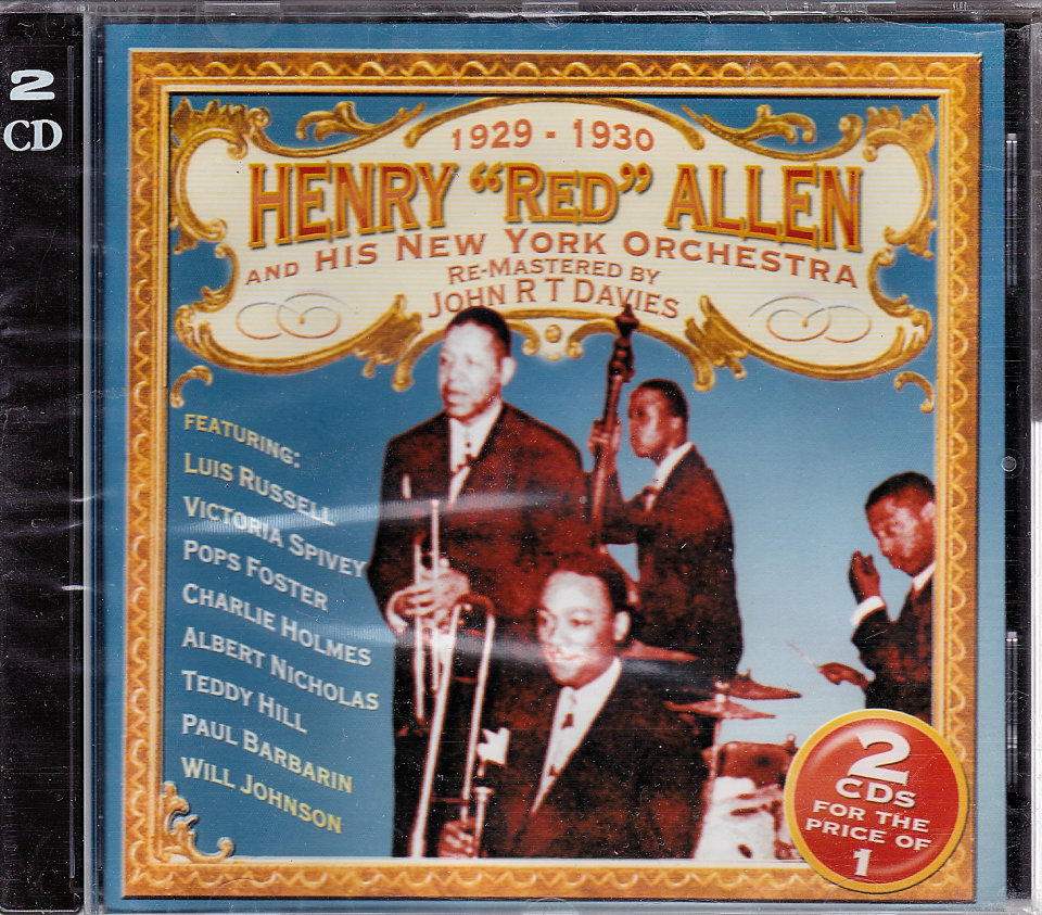 Henry 'Red' Allen & His New York Orchestra CD