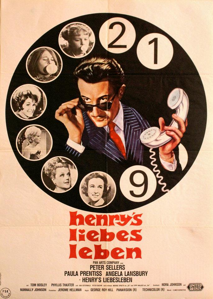 Henry's Liebesleben Poster