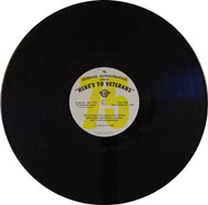 "Here's To Veterans Program No.973 / 974 Vinyl 12"" (Used)"