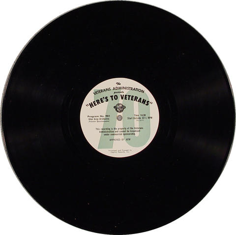 "Here's To Veterans Vinyl 12"" (Used)"