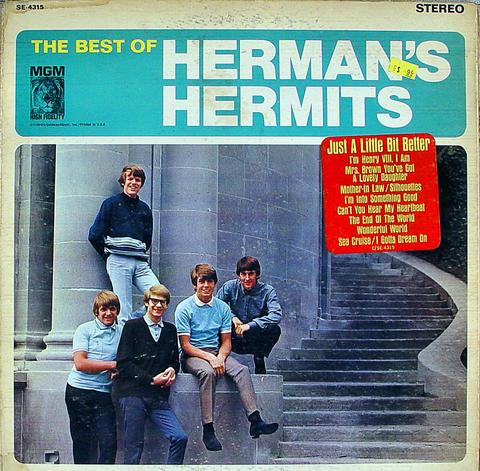 "Herman's Hermits Vinyl 12"" (Used)"