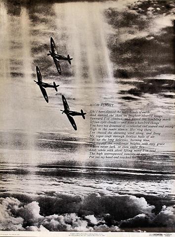High Flight Poster