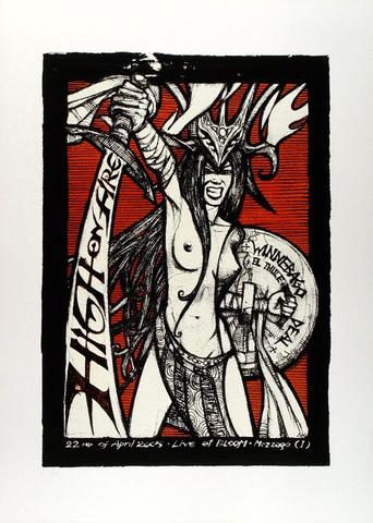 High on Fire Poster