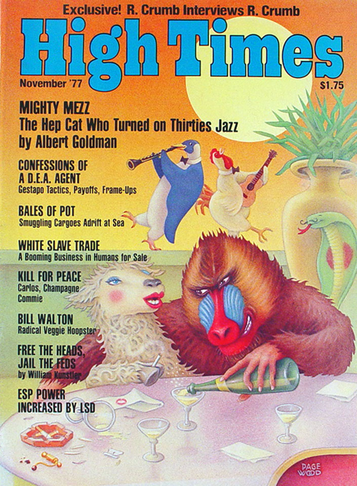 High Times Issue 27