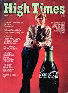 High Times Magazine August 1977 Magazine