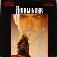 Highlander Laserdisc