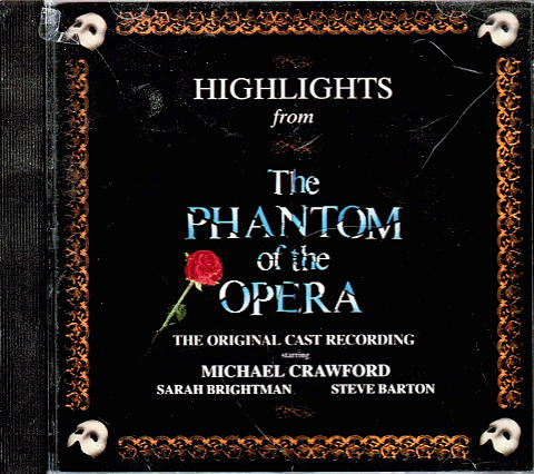 Highlights from The Phantom of the Opera CD