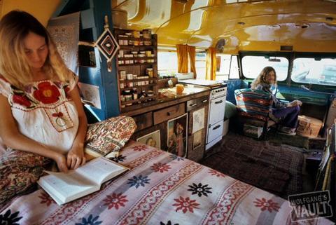 Hippies Fine Art Print