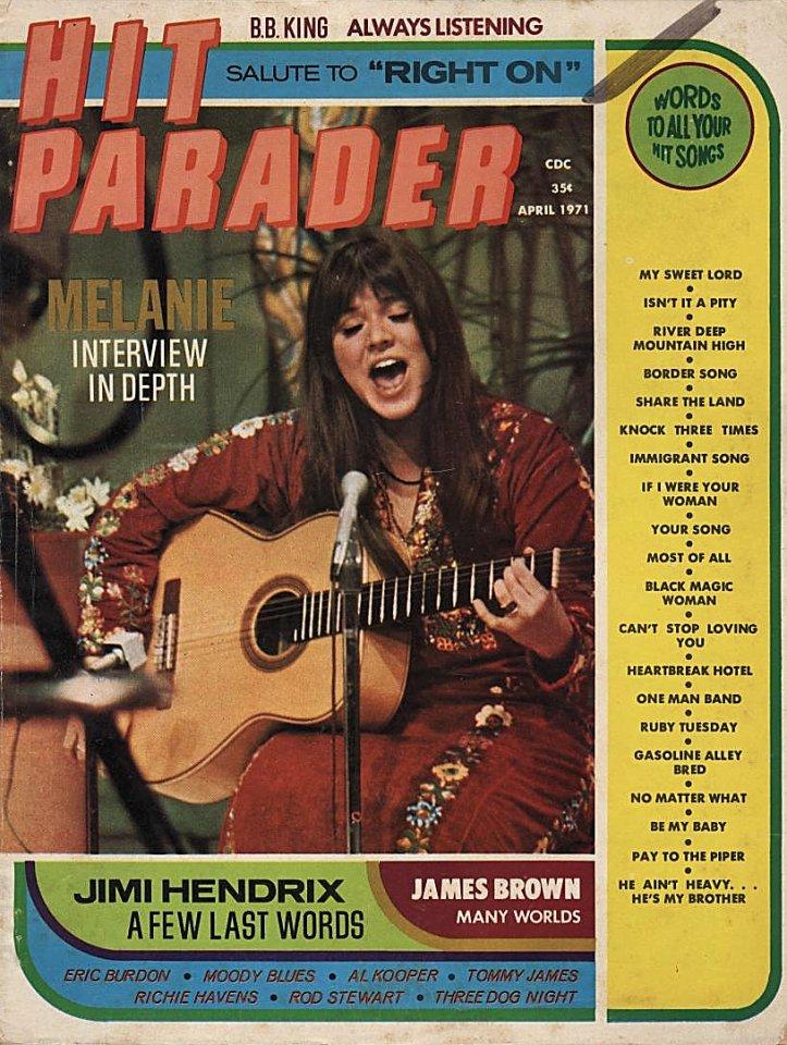 Hit Parader April 1971