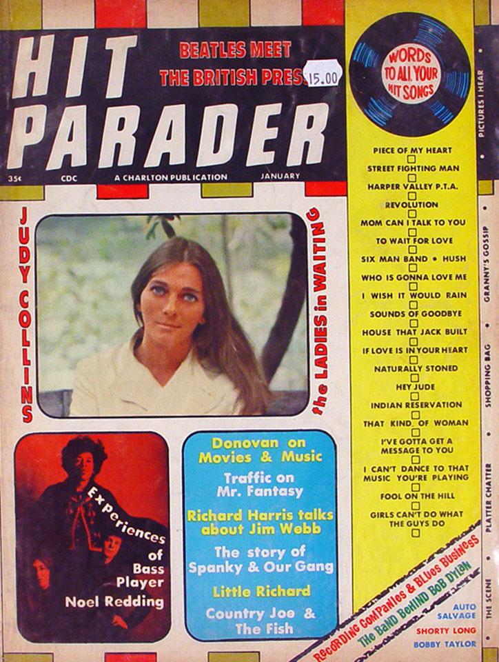 Hit Parader Issue 54