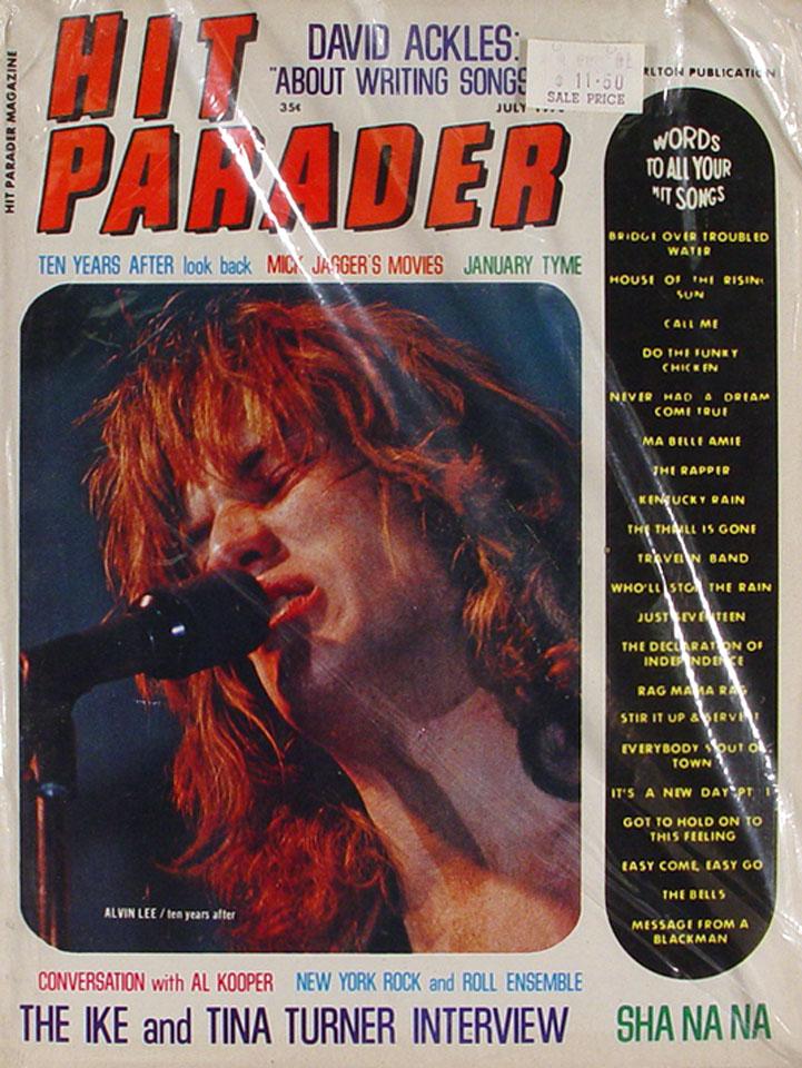 Hit Parader Issue 72