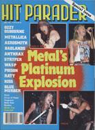 Hit Parader June 1989 Magazine