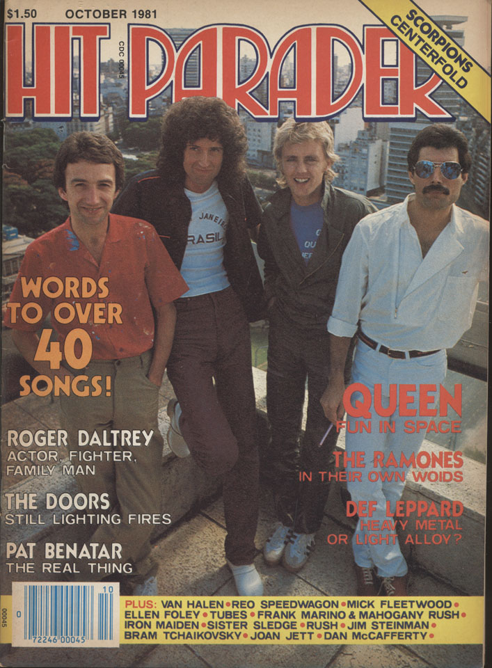 Hit Parader Vol. 40 No. 205