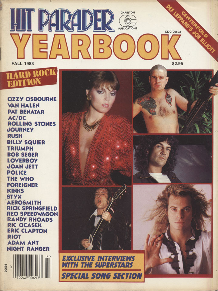 Hit Parader Yearbook 14th Edition