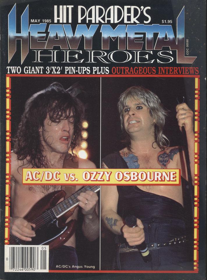 Hit Parader's Heavy Metal Heroes Vol. 2 No. 7