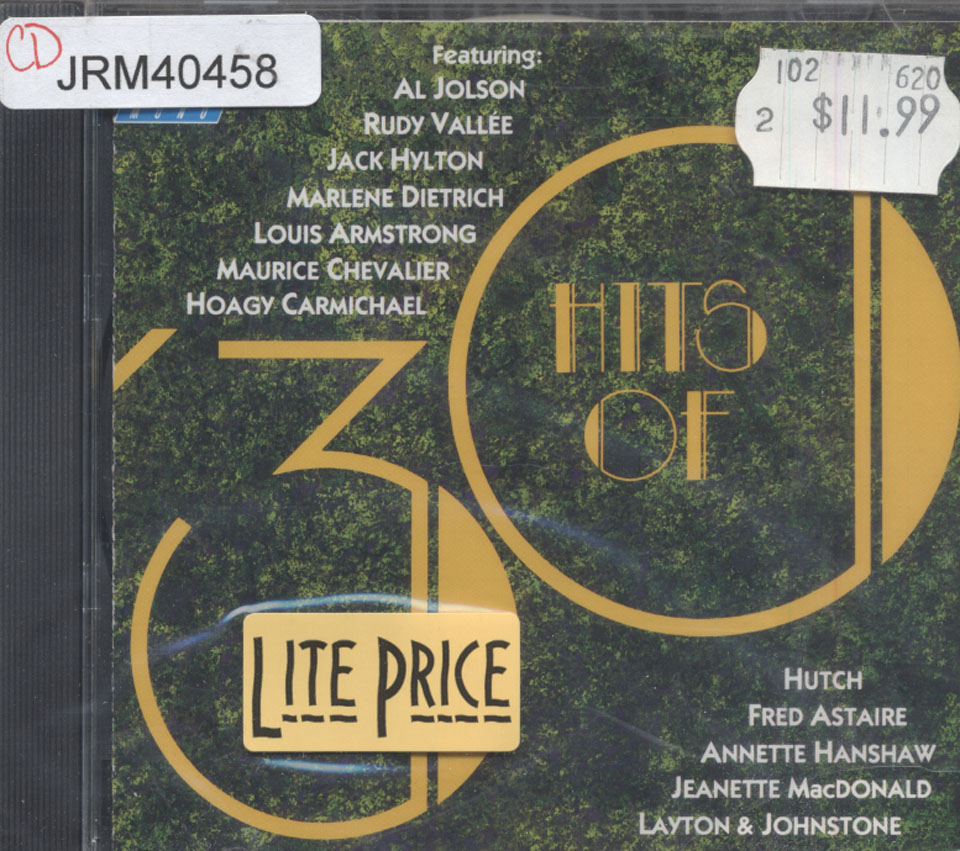 Hits of '30 CD