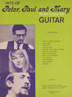Hits Of Peter, Paul And Mary Made Easy For Guitar Book