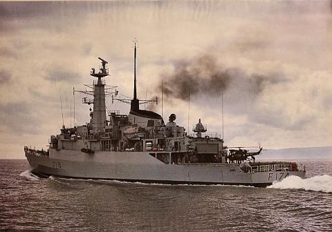 HMS Alacrity F174 Poster