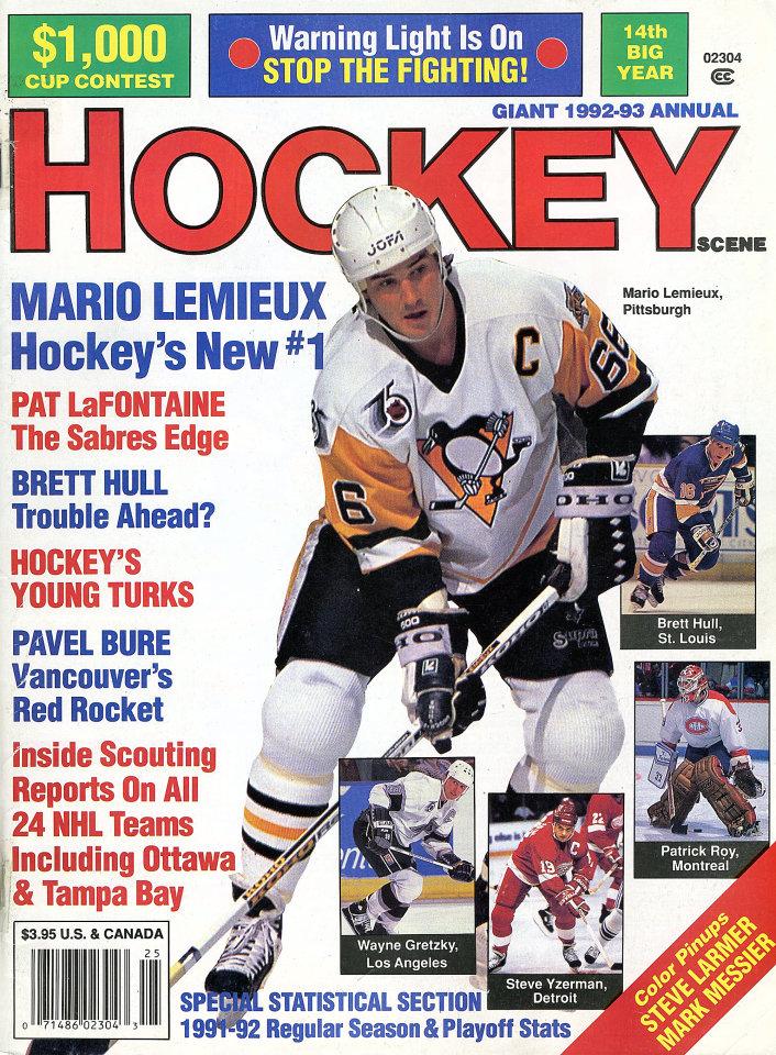 Hockey Scene 1992 - 93 Annual