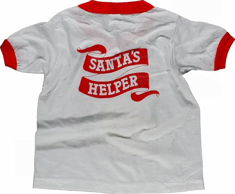 Holiday Festival Kid's Vintage T-Shirt reverse side