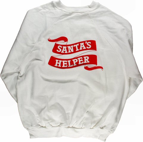 Holiday Festival Men's Vintage Sweatshirts reverse side