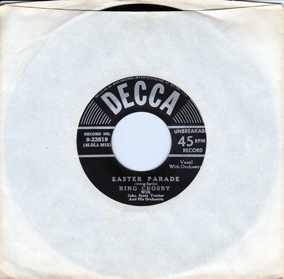 """Holiday Inn Vinyl 7"""" (Used)"""