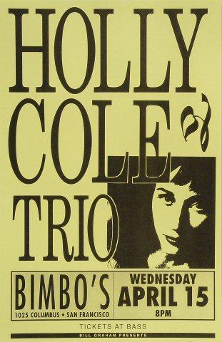Holly Cole Trio Poster