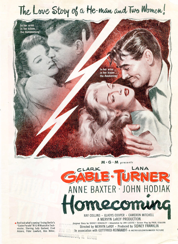 Homecoming Vintage Ad