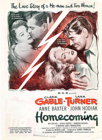 Homecoming Vintage Ad