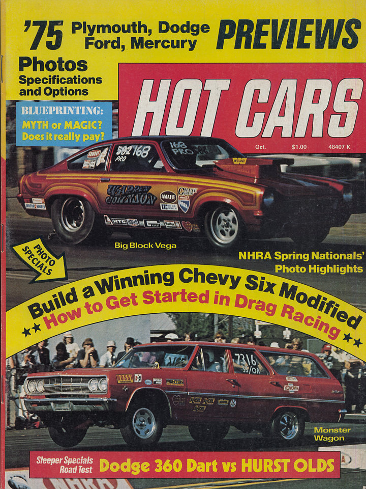 Hot Cars Magazine, Oct 1, 1974 at Wolfgang\'s