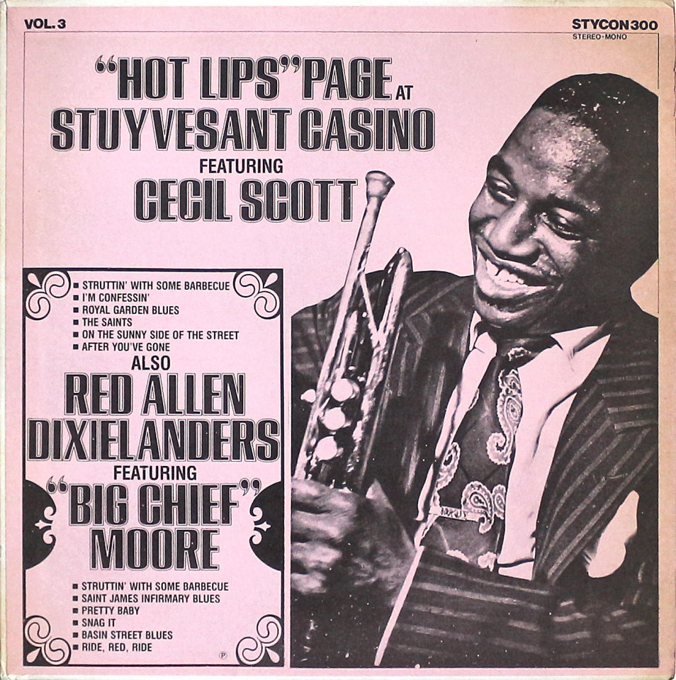 """""""Hot Lips"""" Page Vinyl 12"""" (New)"""