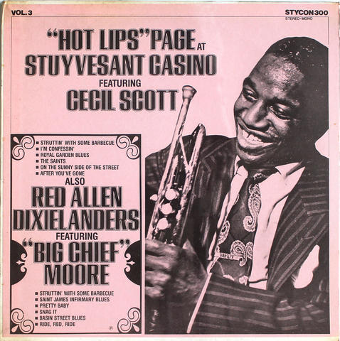 """Hot Lips"" Page Vinyl 12"" (New)"