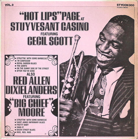 """Hot Lips"" Page Vinyl 12"" (Used)"