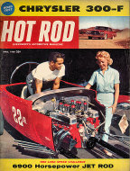 Hot Rod  Apr 1,1960 Magazine