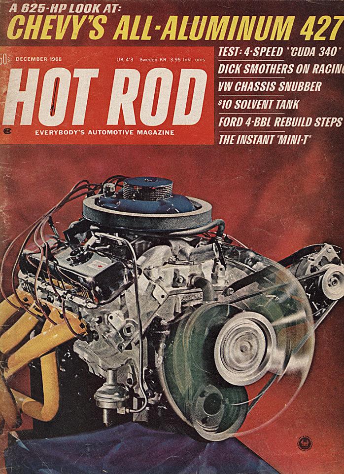 Hot Rod  Dec 1,1968