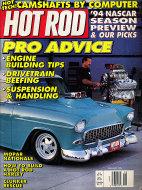 Hot Rod  Feb 1,1994 Magazine
