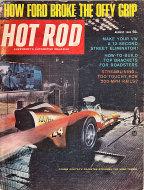 Hot Rod Magazine August 1965 Magazine