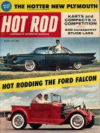 Hot Rod  Mar 1,1960 Magazine