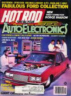 Hot Rod  Nov 1,1986 Magazine